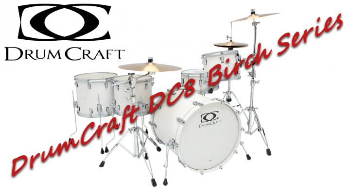 DrumCraft DC8 Birch series – Sound Test