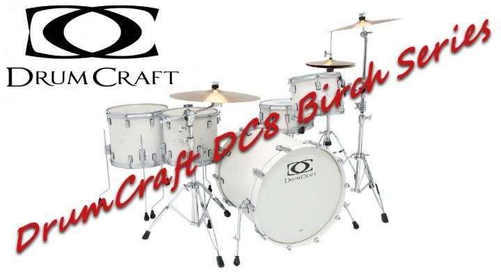 DrumCraft DC8 Birch series – Sound Test