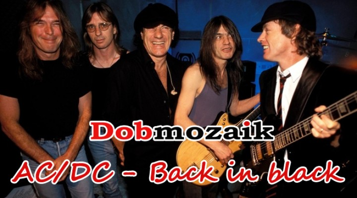 AC/DC – Back in black dobkotta