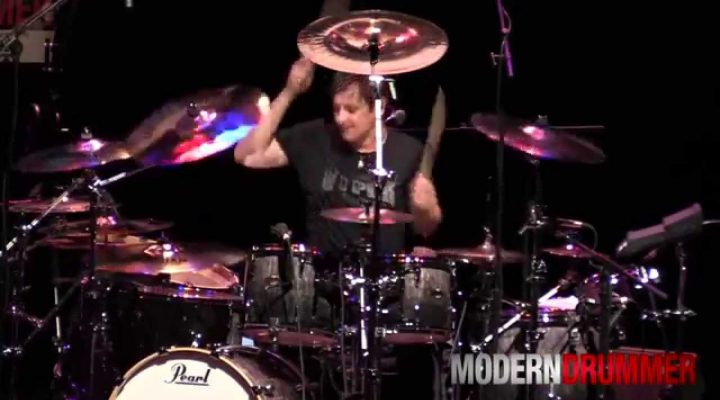 Ray Luzier Korn Medley Performance at Drum Daze 2014