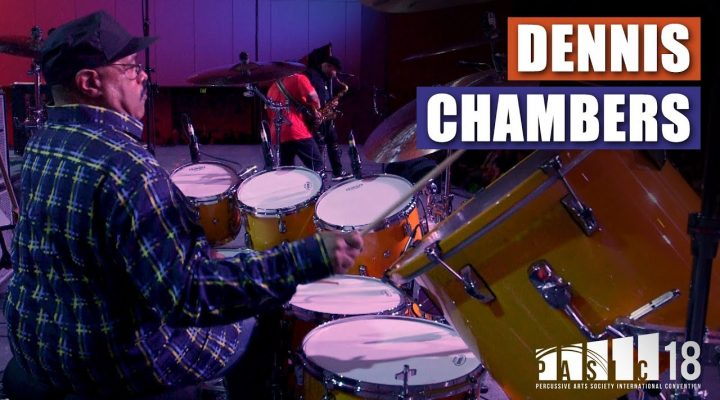 Dennis Chambers – Victor Wooten Trio | PASIC 2018
