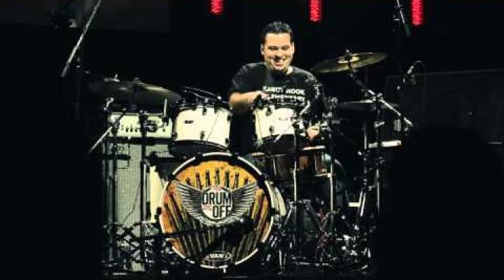 Juan Carlito Mendoza, a 2012-es Drum-Off győztes