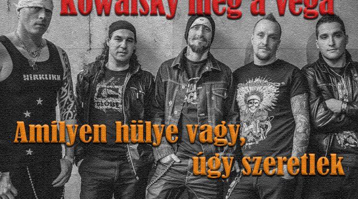 Kowalsky meg a Vega – Amilyen hülye vagy, úgy szeretlek (Drum Cover)